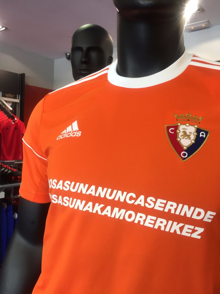 https://twitter.com/TiendaCAOsasuna/status/856511690611064832/photo/1  Osasuna shirt design