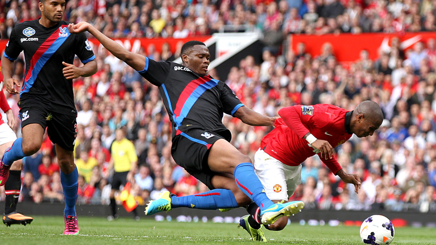 Ashley Young of Manchester United is no stranger to diving