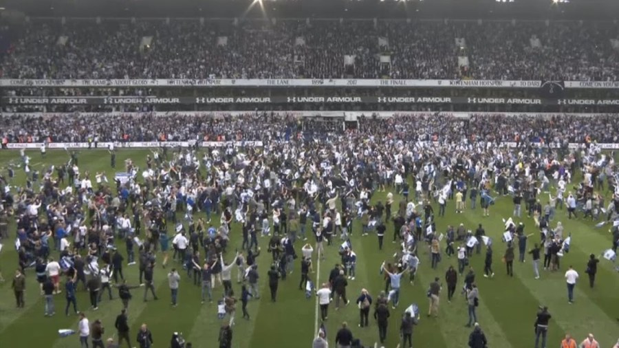 White Hart Lane last game
