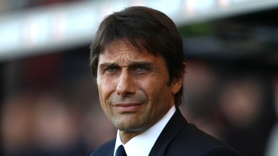 Antonio Conte employed a 3-4-3 formation he was familiar from his days at Juventus and Italy
