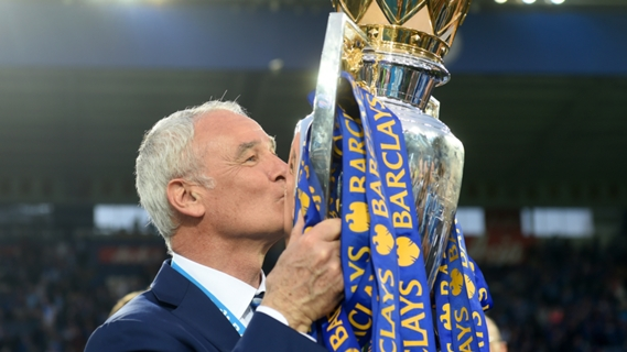 Ranieri led Leicester towards the first title of their career