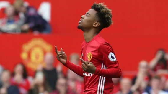Angel Gomes got his debut at United at only 16 years of age.