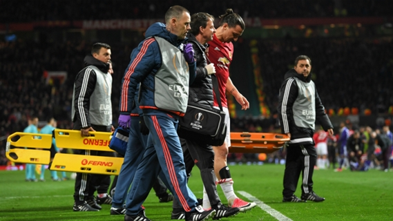 Ibrahimovic was unavailable for the last part of the season through injury