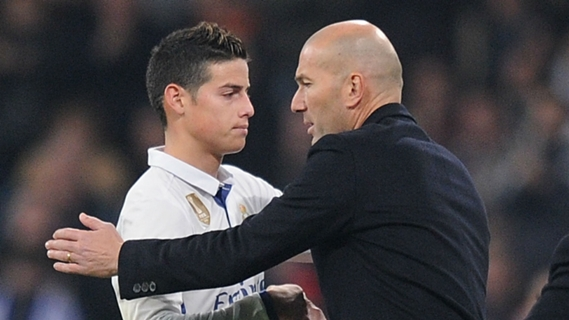 Manager Zidane has not given Rodriguez too much playing time