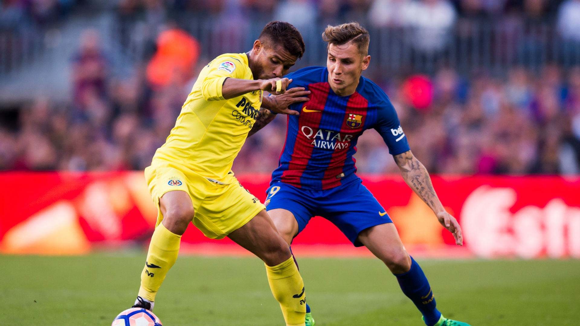 Barcelona injured player Lucas Digne