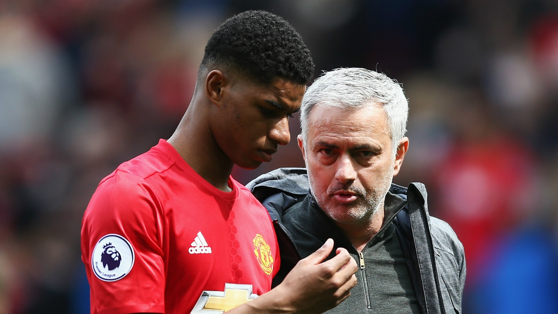 Marcus Rashford has the task of replacing lead striker Zlatan Ibrahimovic out through injury