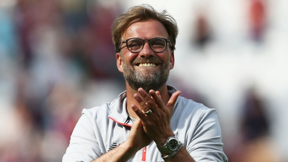 Jurgen Klopp hopes to end his first season in England with a top four finish