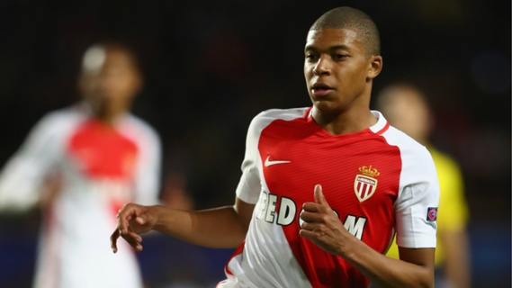 Kylian Mbappe wins title with Monaco