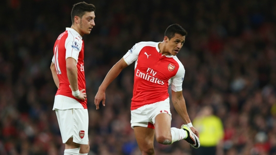 Sanchez and Ozil are perhaps Arsena's highest profile players at the moment