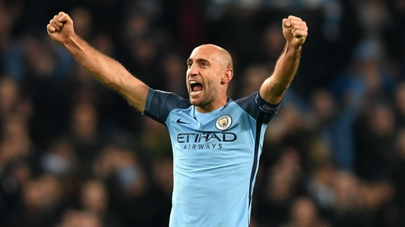Pablo Zabaleta to depart Man. City at the end of the season