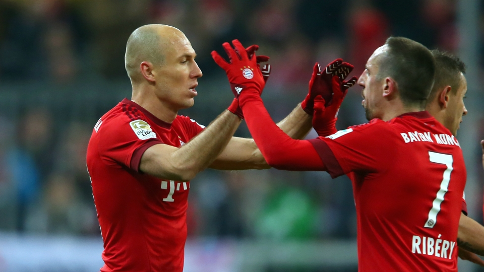 Robben and Ribery