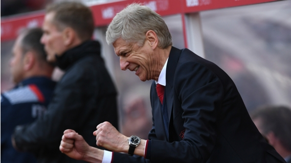 Arsene Wenger has helped the team to six victories in seven games