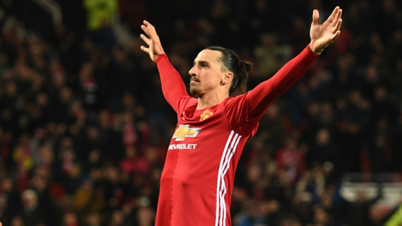 Ibrahimovic has become one of the favorites of United fans