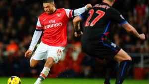 Oxlade-Chamberlain of Arsenal