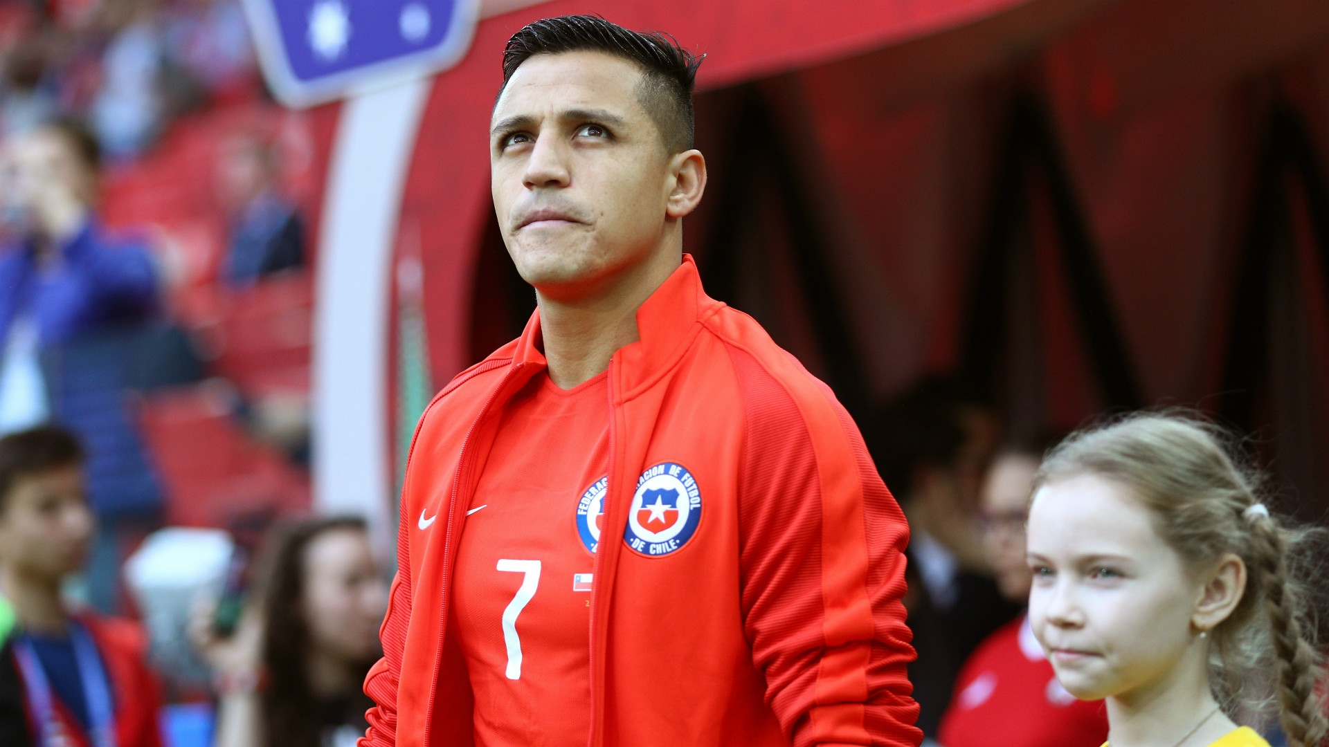 Sanchez is currently on international duty with Chile at the Confederations Cup