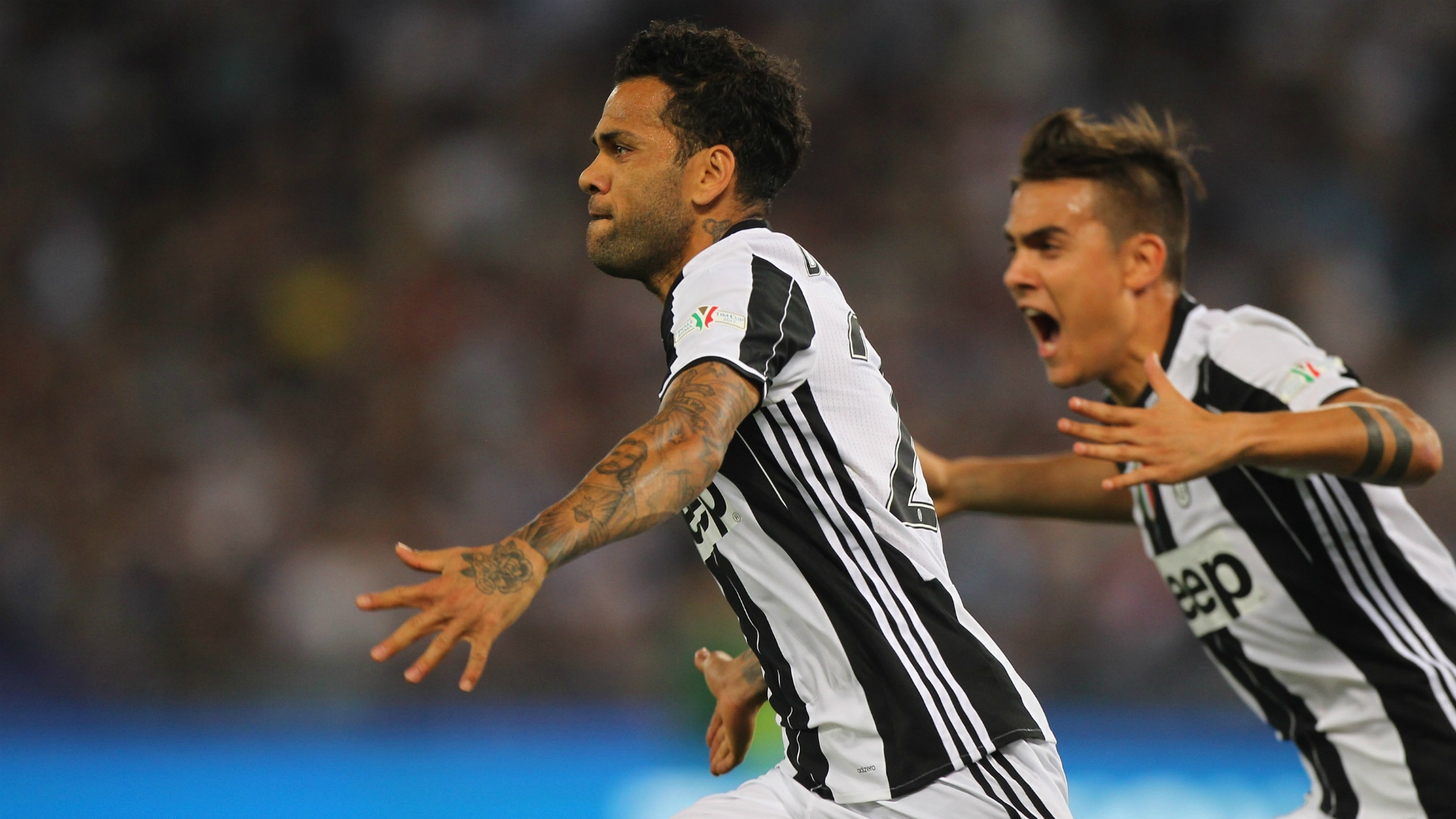 Alves thanked Juventus for the opportunity to play for the club.