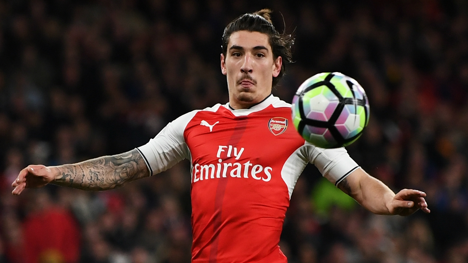 Bellerin started his career playing for Barcelona youth team