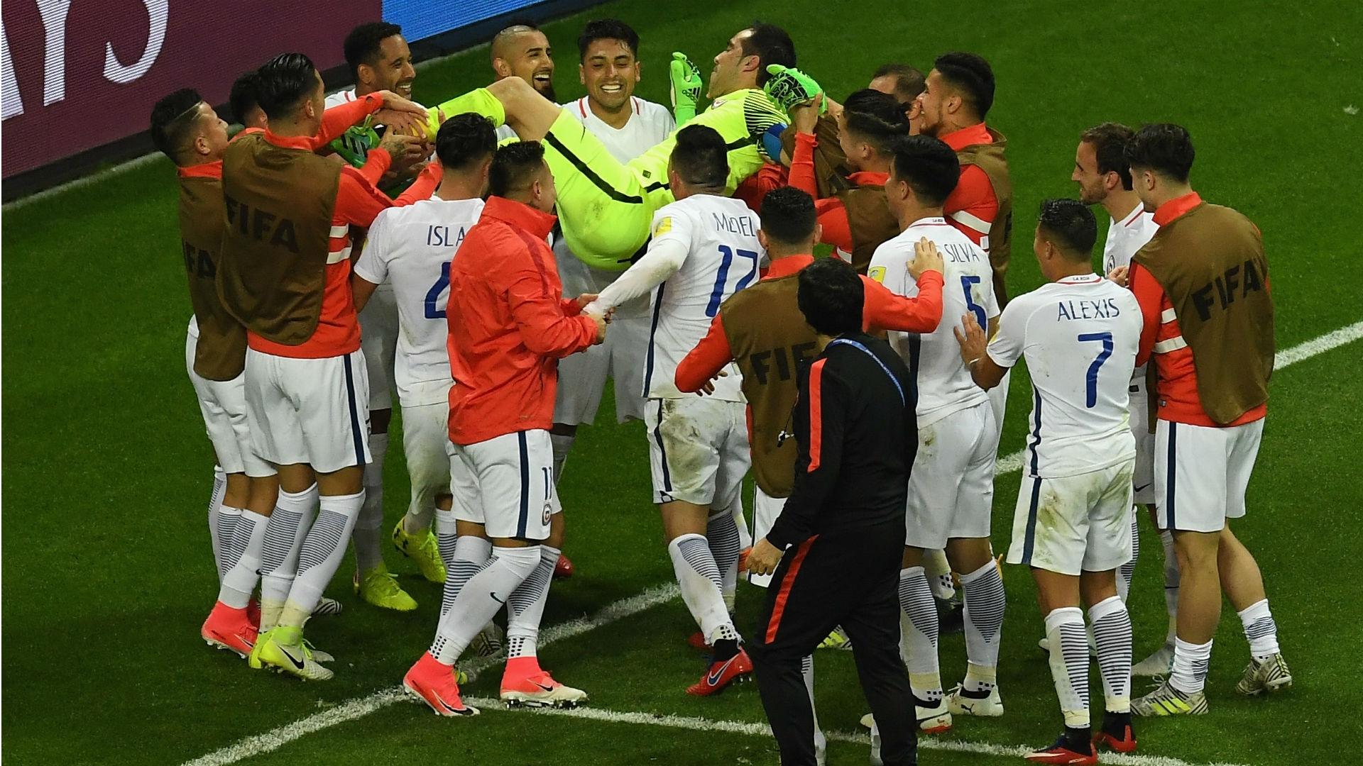 Claudio Bravo managed to save the first two penalty kicks struck byRicardo Quaresma and Joao Moutinho.