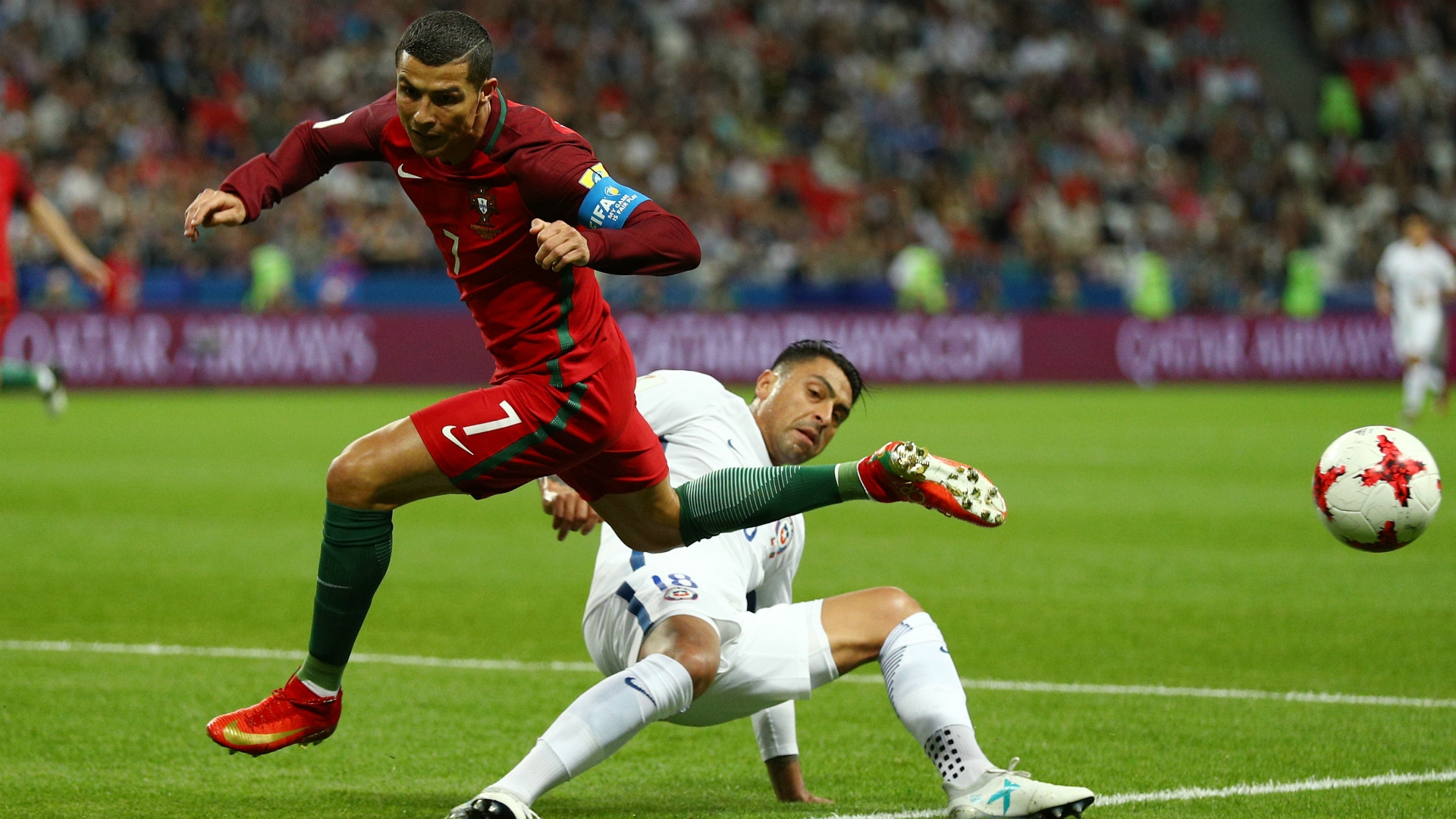 Ronaldo's Portugal is out of the tournament, with the ambitious winger having done his best to win one of the few trophies missing from his outstanding resume.