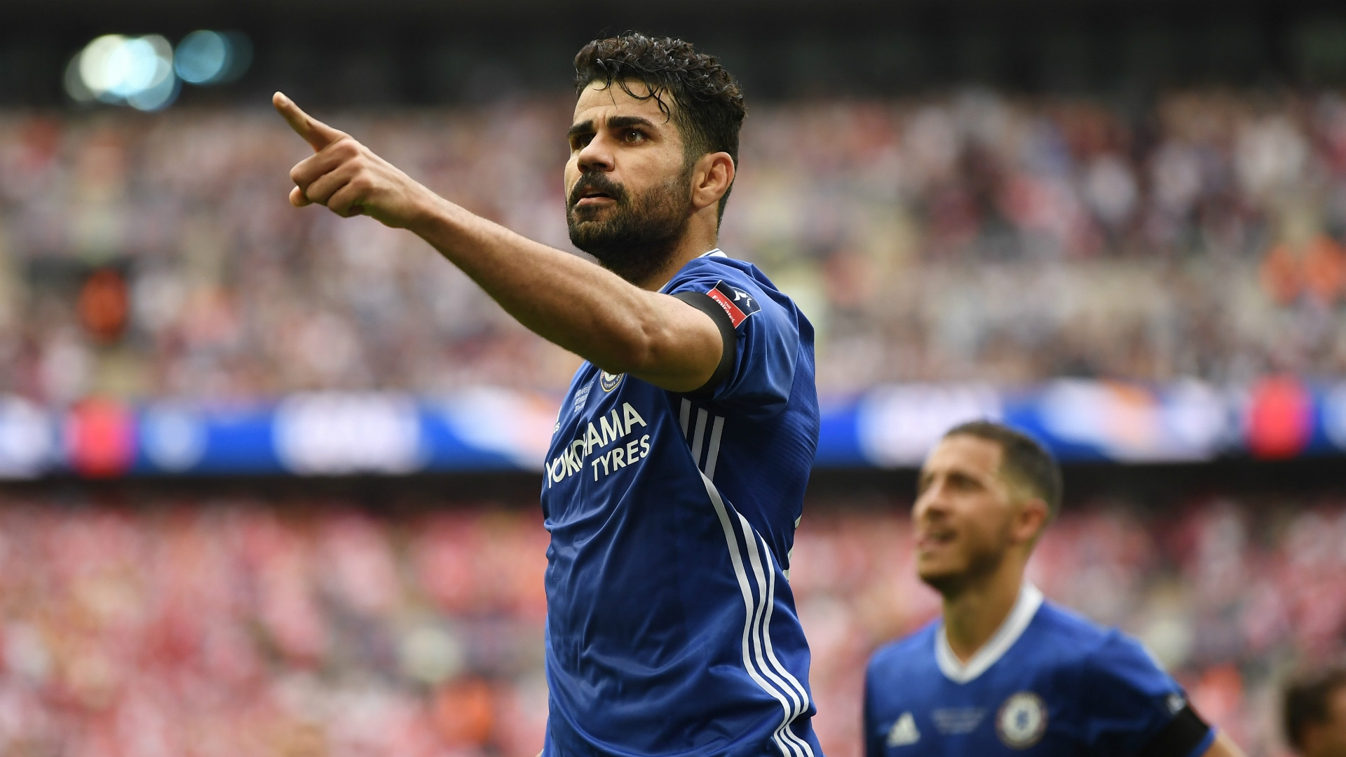 Costa revealed manager Antonio Conte is planning to remove the player from the starting team