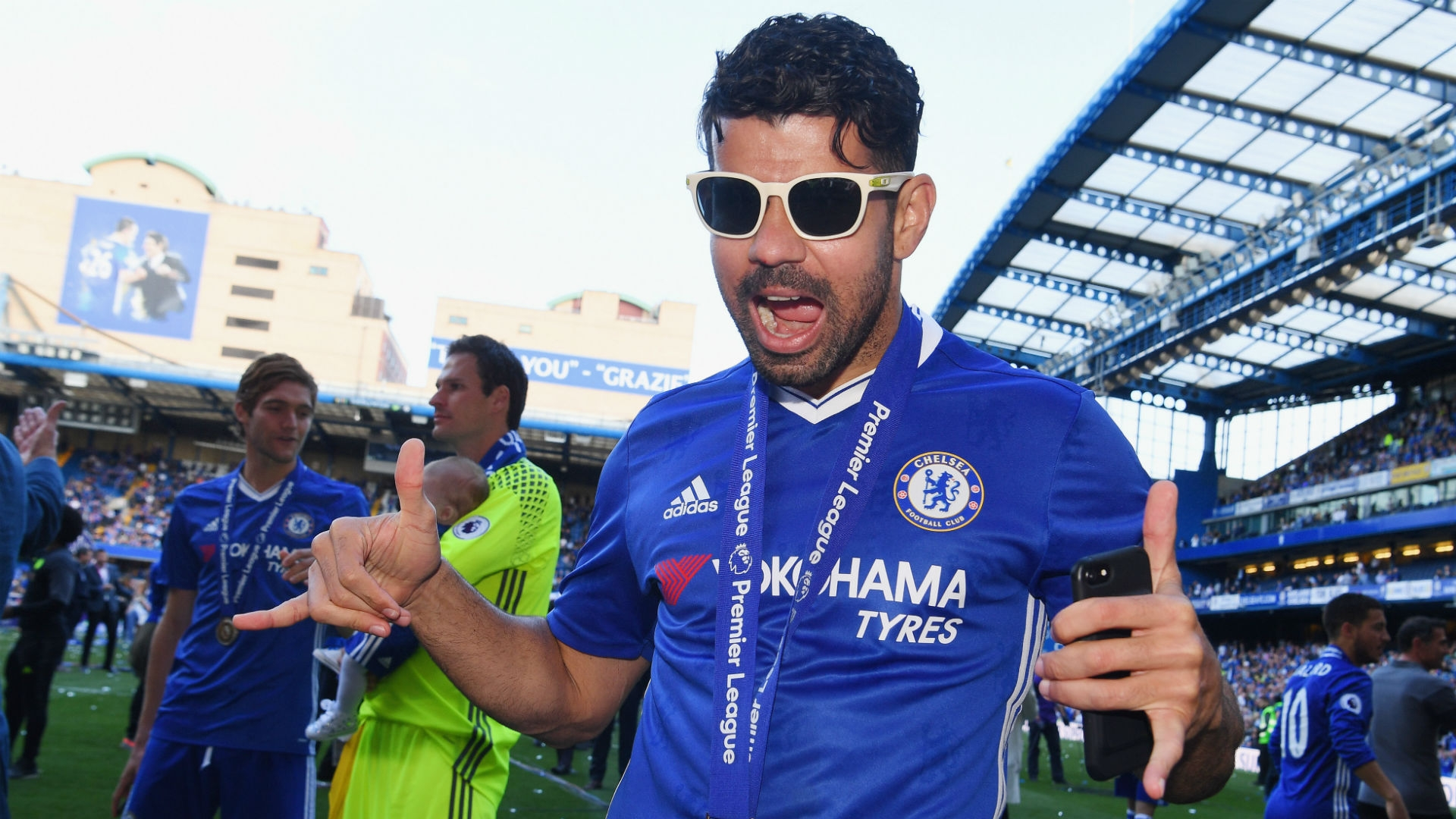 Diego Costa is said to be negotiating a departure from Chelsea