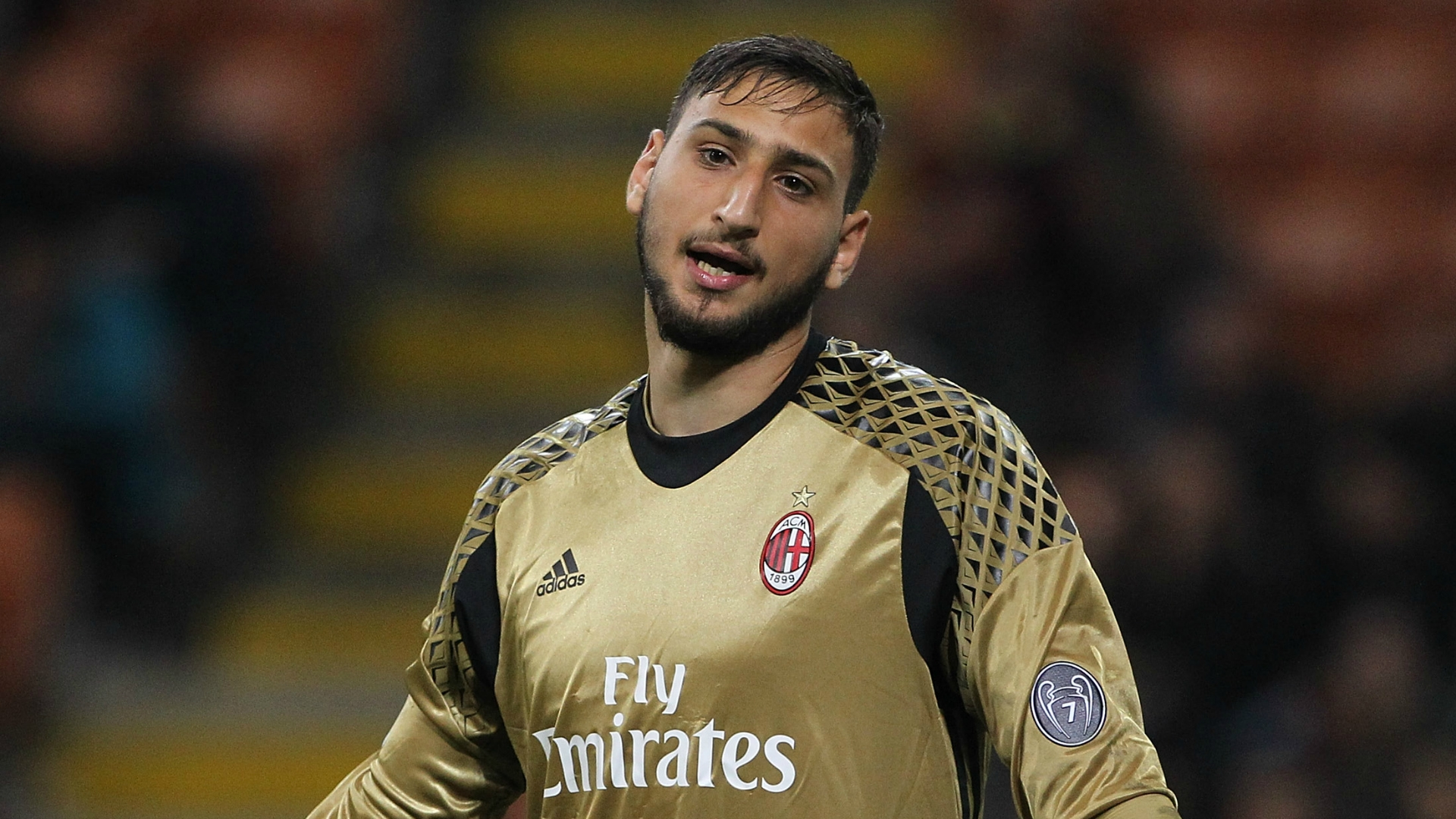 Gianluigi Donnarumma is yet to extend his contract with AC Milan