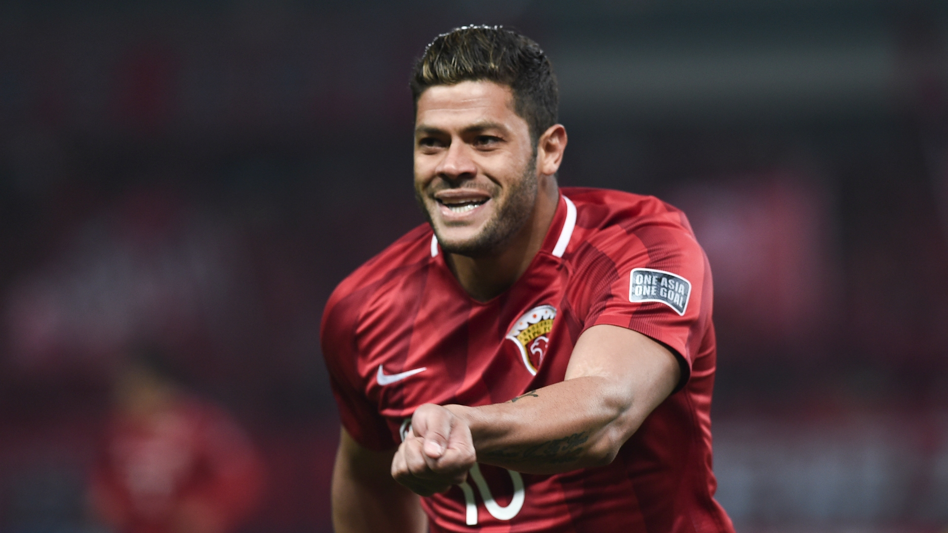 International star Hulk plays for the same team as Oscar. They are are both part of a number of high-profile players having joined the Chinese League in recent years.