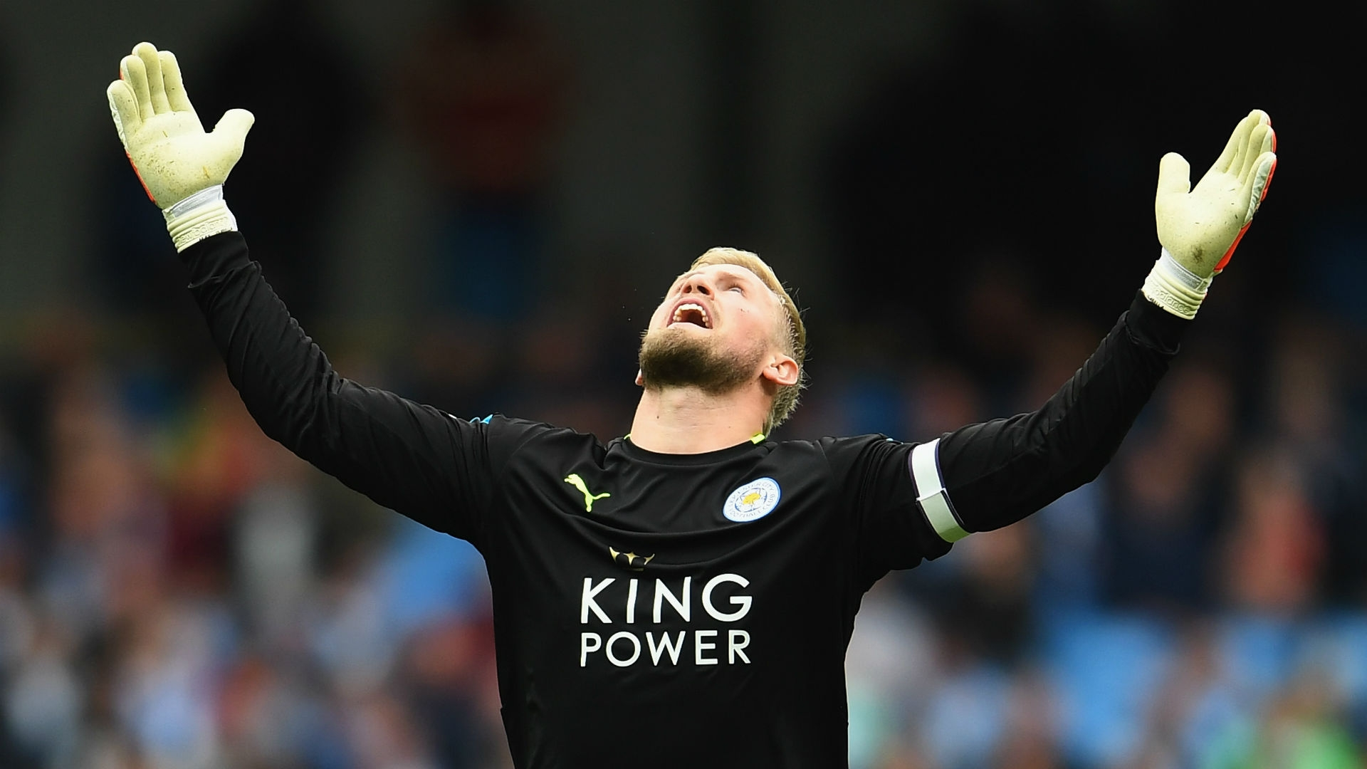 Kasper Schmeichel has impressed as Leicester City's first choice for the goalkeeper position