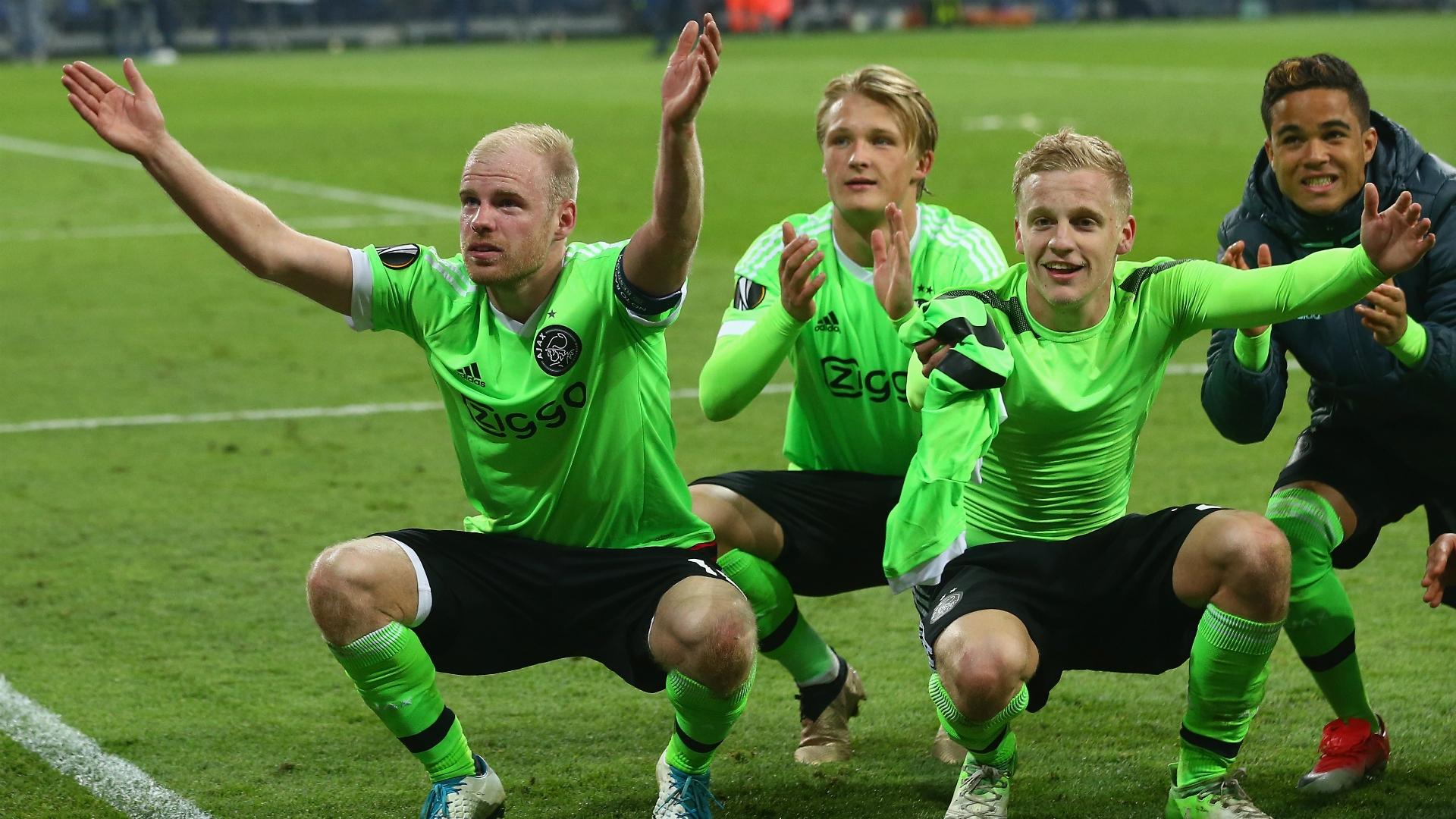 Klaassen was part of Ajax's impressive side that reached the Europa League final this season