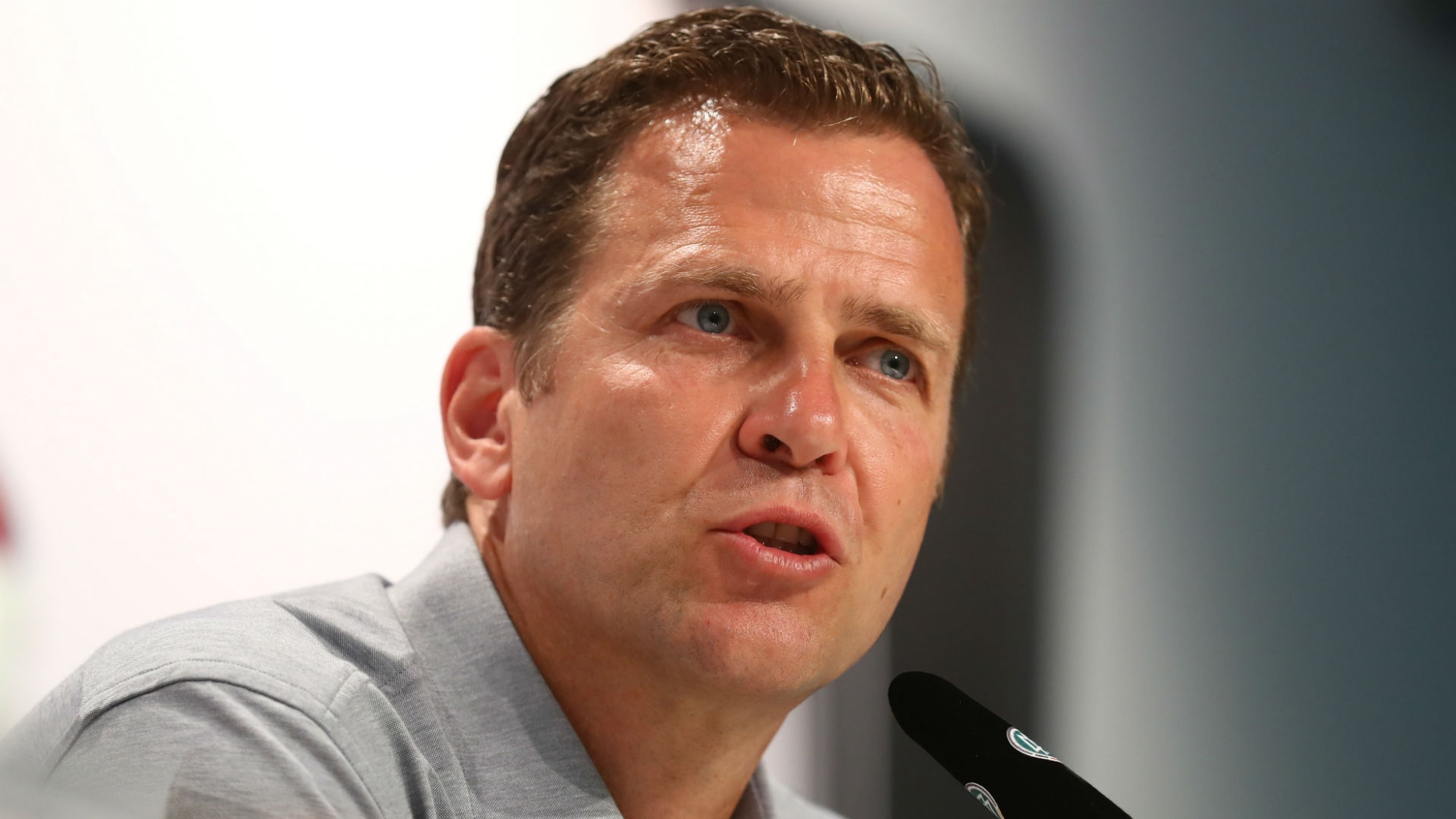 """The main goal is to win the FIFA World Cup again in 2018,"" Bierhoff says."