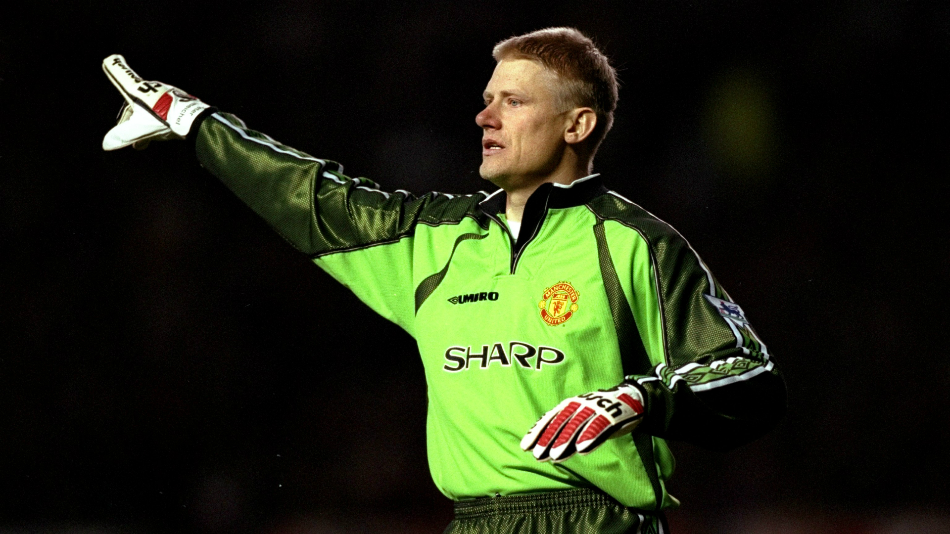 Peter Schmeichel was United's keeper for eight seasons, winning the Champions League, three FA Cups and five Premier League titles in the process.