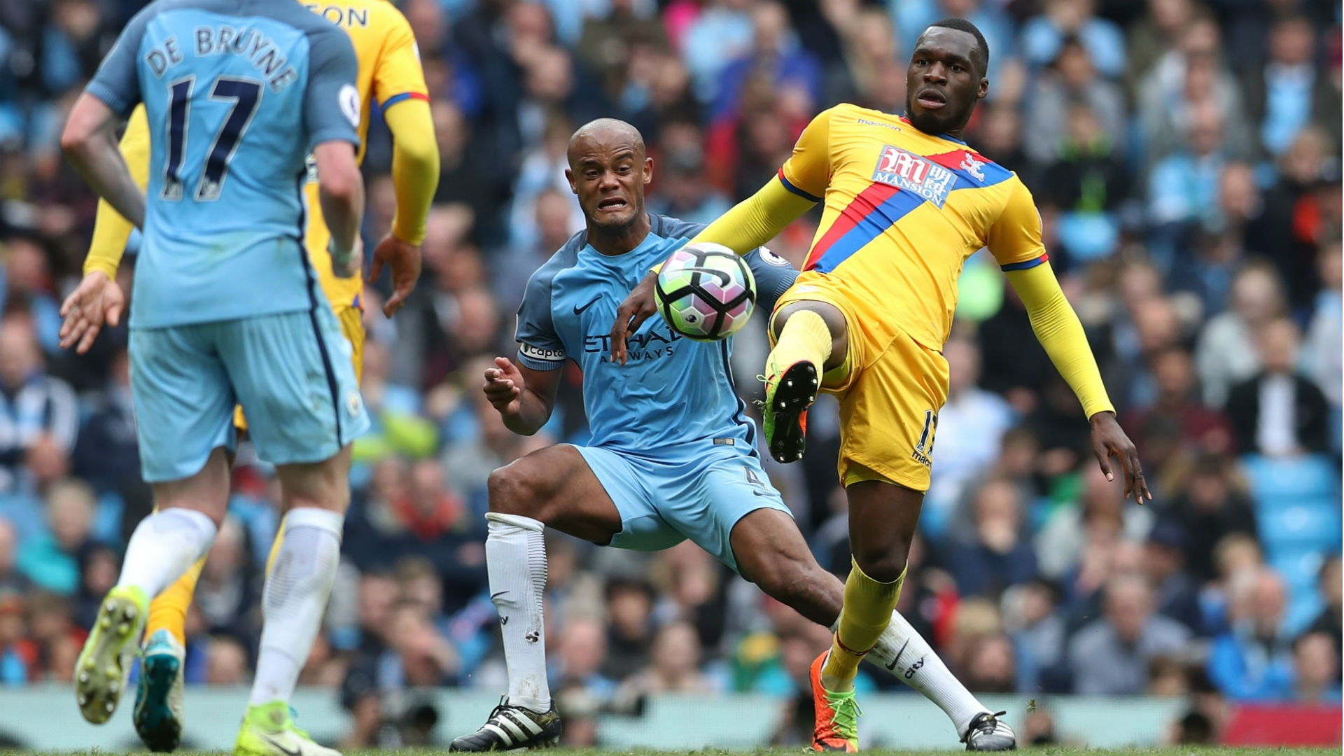 Vincent Kompany has been unavailable for Manchester City for most of the season