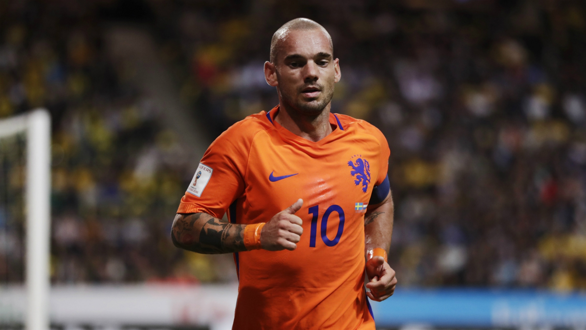 Sneijder needs to help Holland move up from fourth place in their WC qualifiers group