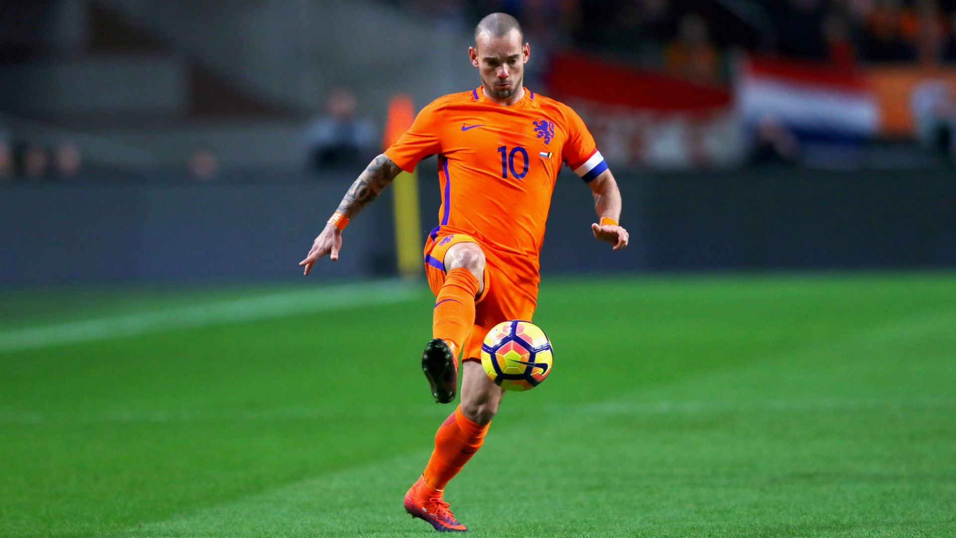 Sneijder to become Netherlands highest capped player