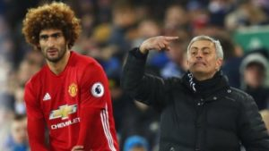 Mourinho and Fellaini - Manchester United