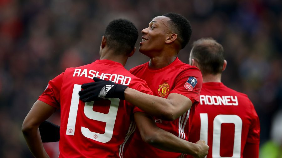 Mourinho puts down Martial development down to hard work