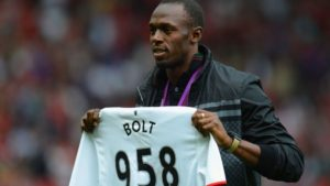 United super-fan Usain Bolt talks about Lukaku's transfer