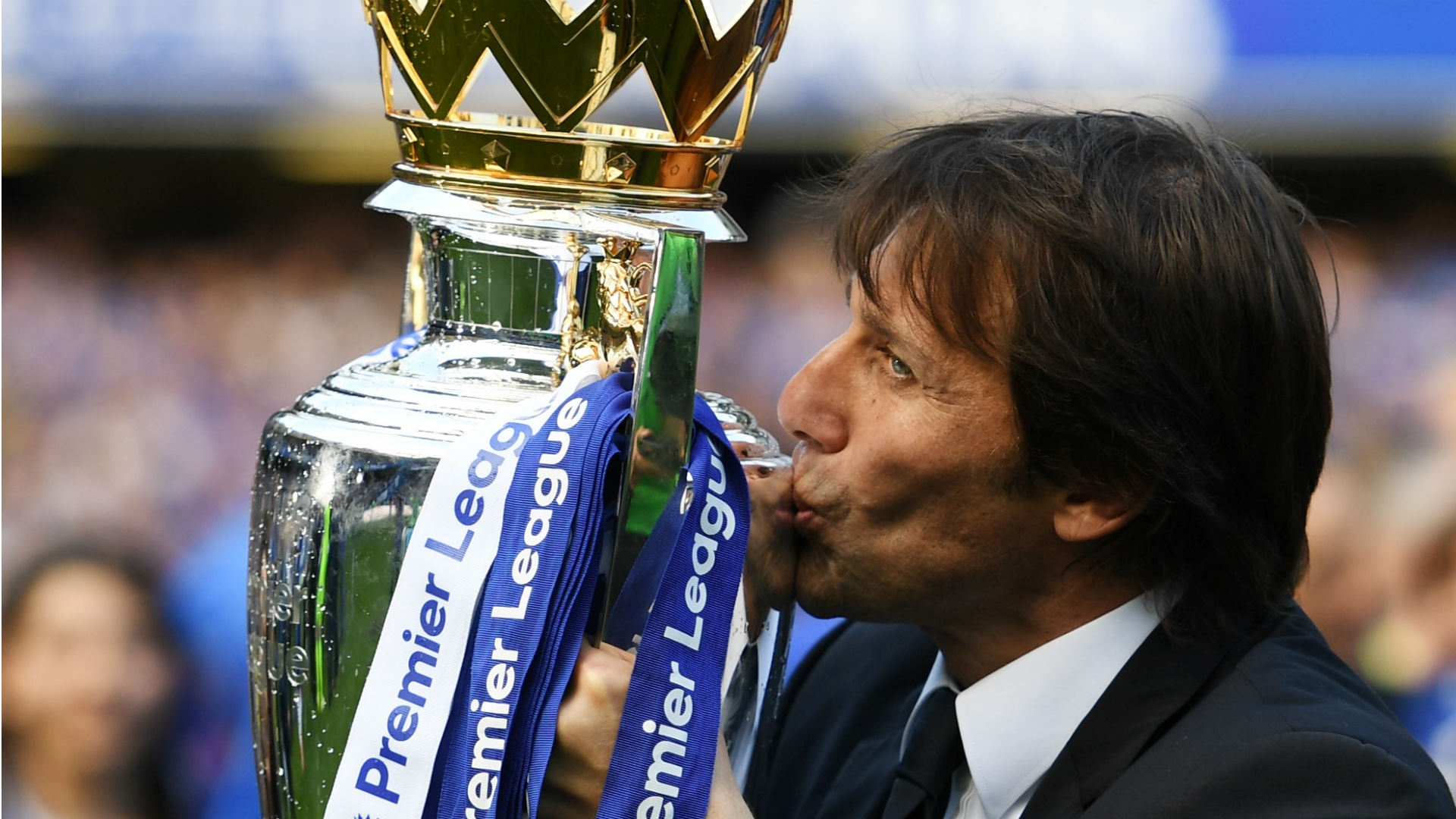 """At the moment, my situation is very clear. I have two more years' contract with the club,"" Conte told reporters at the end of last season"