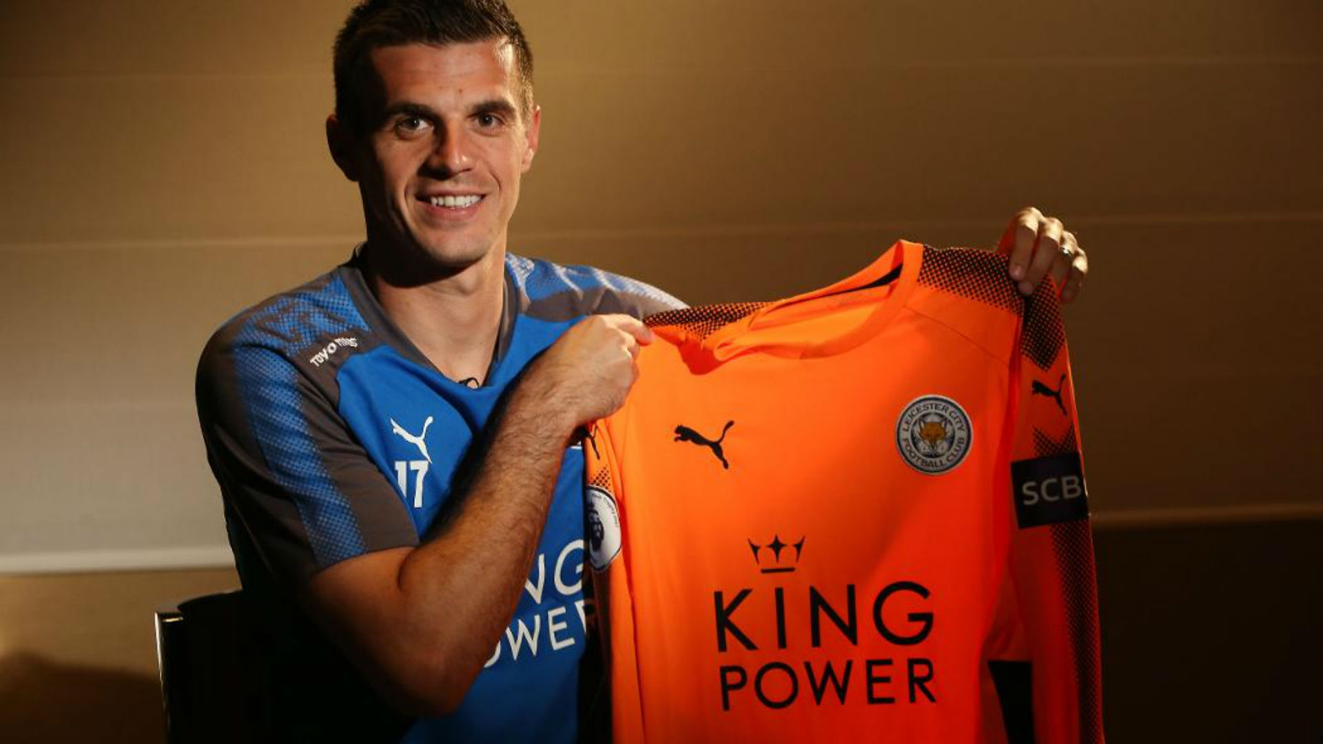 Jakupovic talked about his excitement at the new opportunity with reporters from Leicester's official web site.
