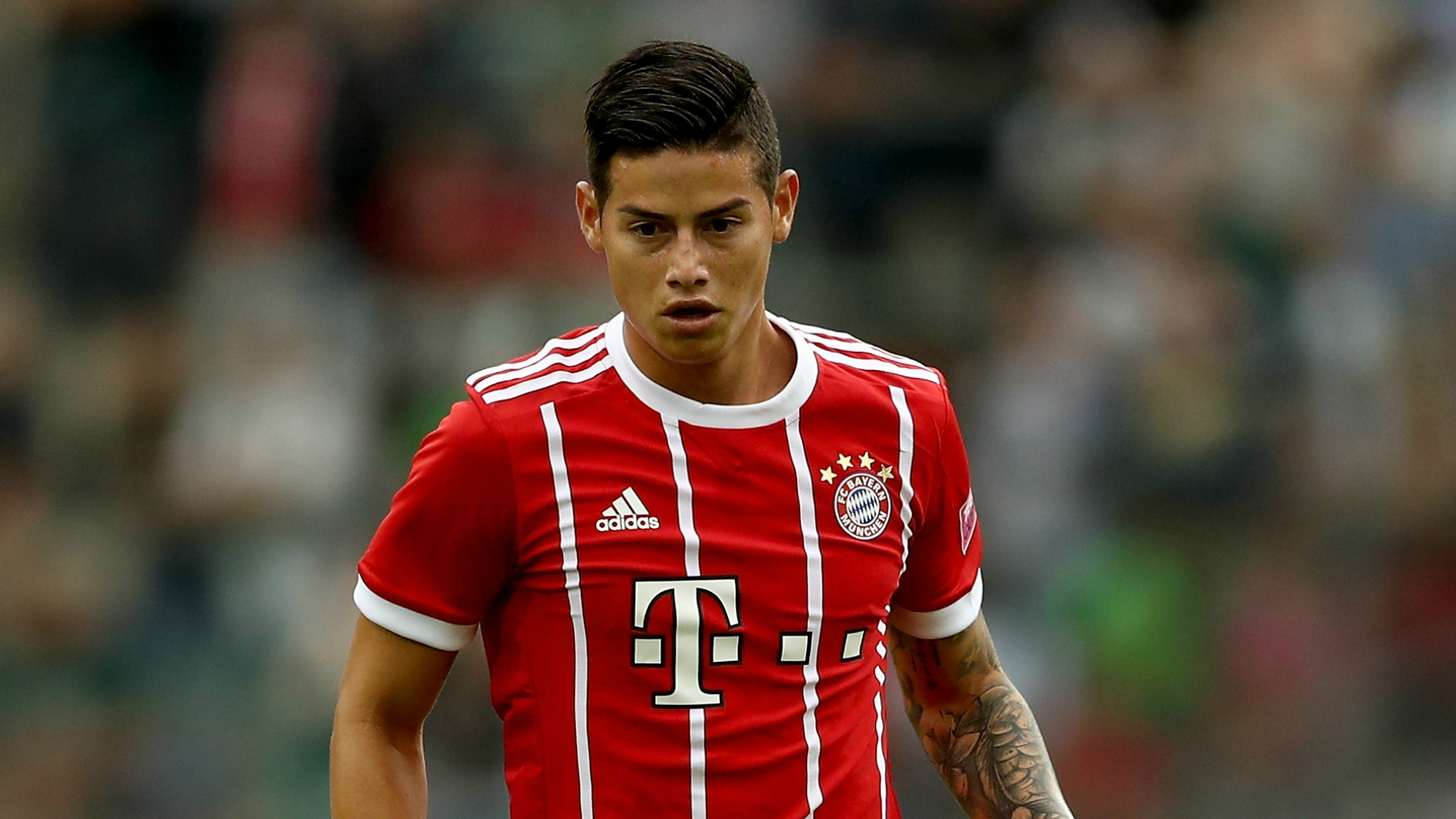 It's only that the German side has brought in two quality midfielders, James Rodriguez on loan from Real Madrid and Corentin Tolisso arriving from Lyon.