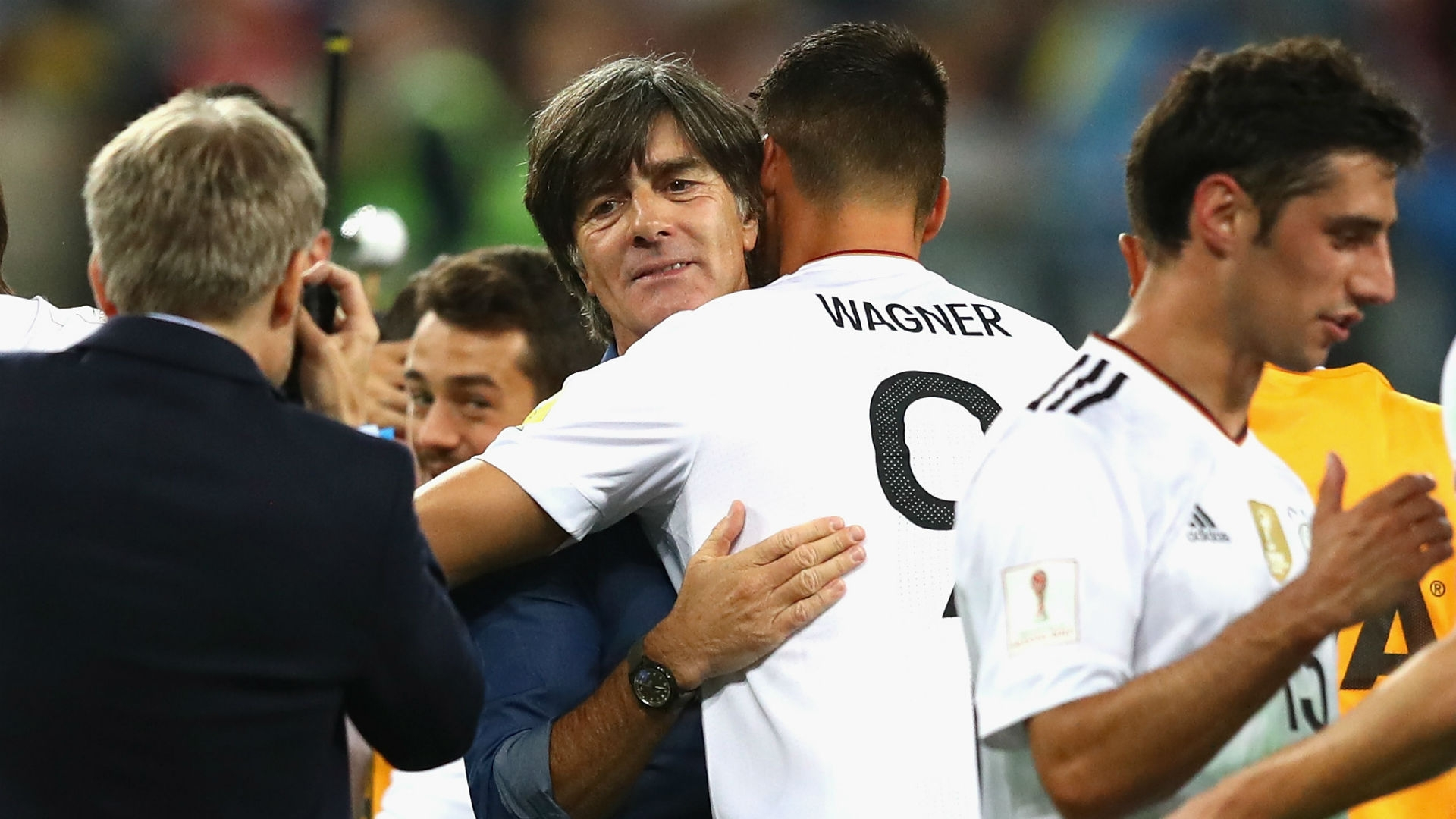 Joachim Low, the coach of Germany's senior team, says that the experiment of calling up young players to the team offered exactly the kind of results he had hoped for.