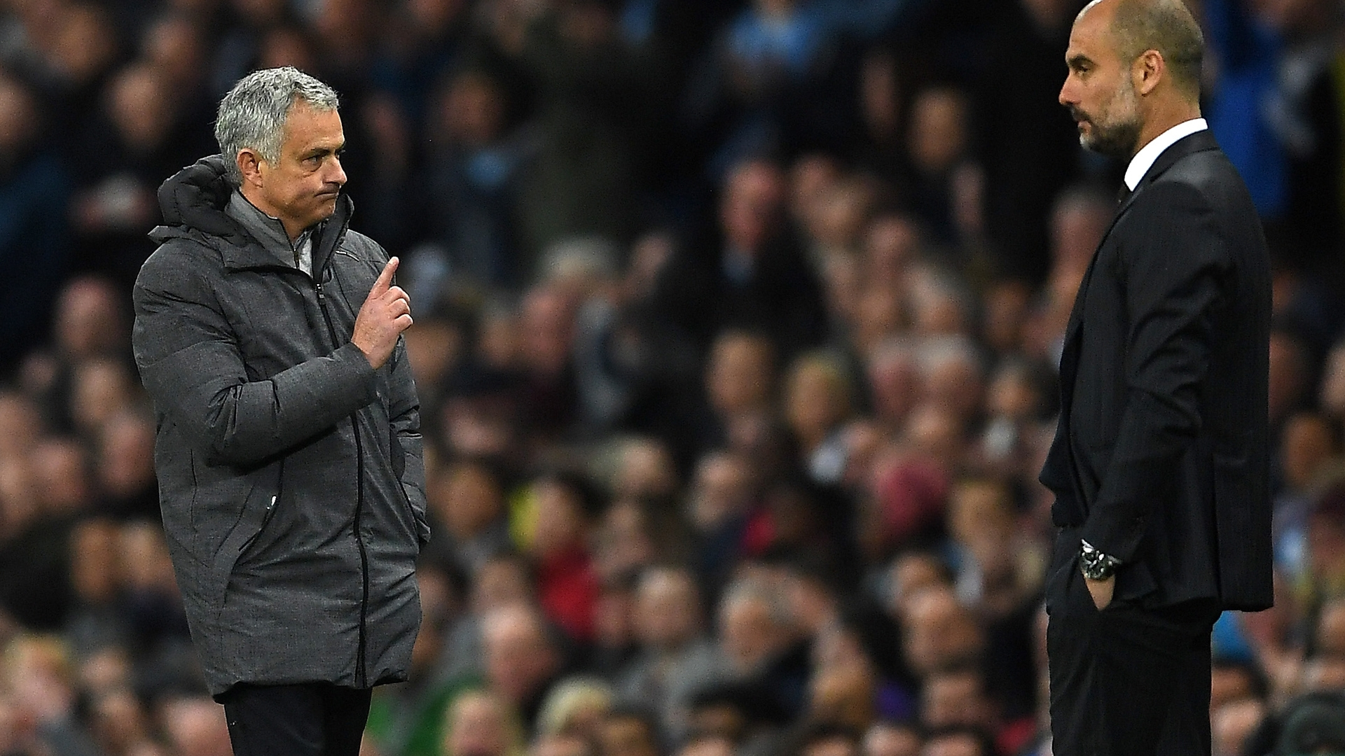 Mourinho says that now things have changed. It's not that enough time has passed, but their teams are also not the only important sides in the league as was often the case in Spain (if you discount Atletico Madrid at times).