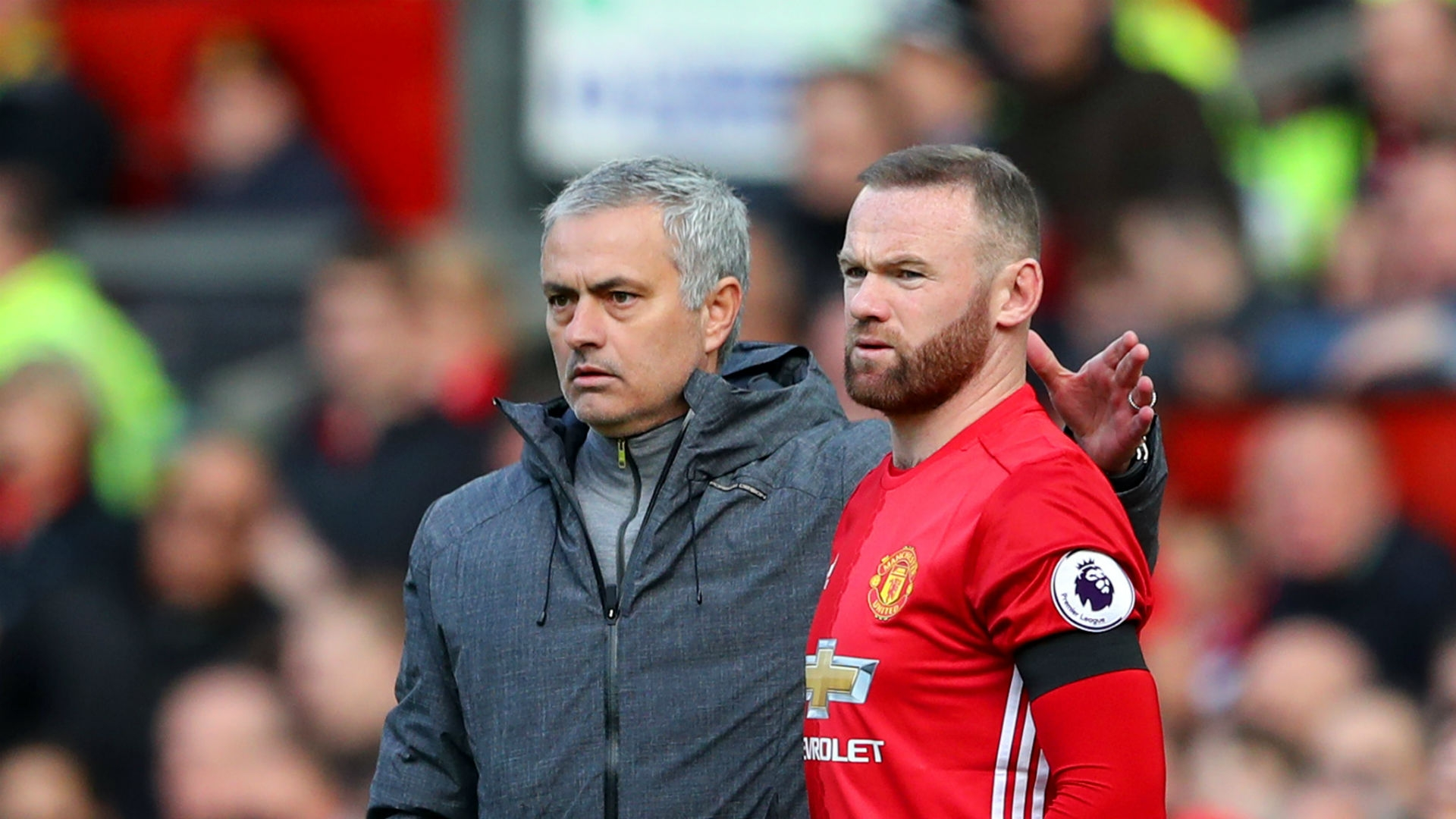 Publicly Mourinho has always said he would be happy for Wayne Rooney to remain at Manchester United.