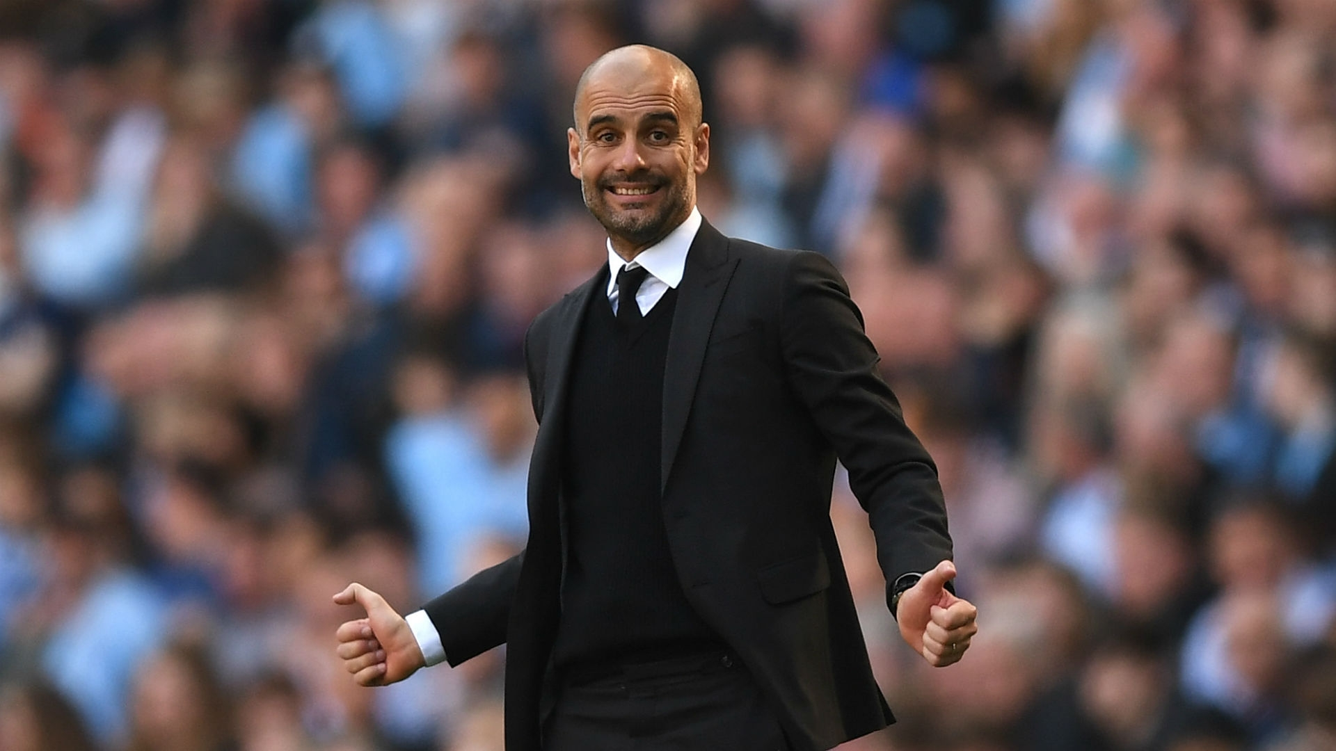 Is Manchester City a great team? Guardiola believes so. However, he warns fans to not expect the club to be on the same level as Barcelona or Real Madrid without enough time to build the club's strength.