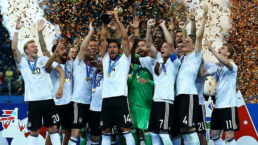 Germany win Confed Cup 2017