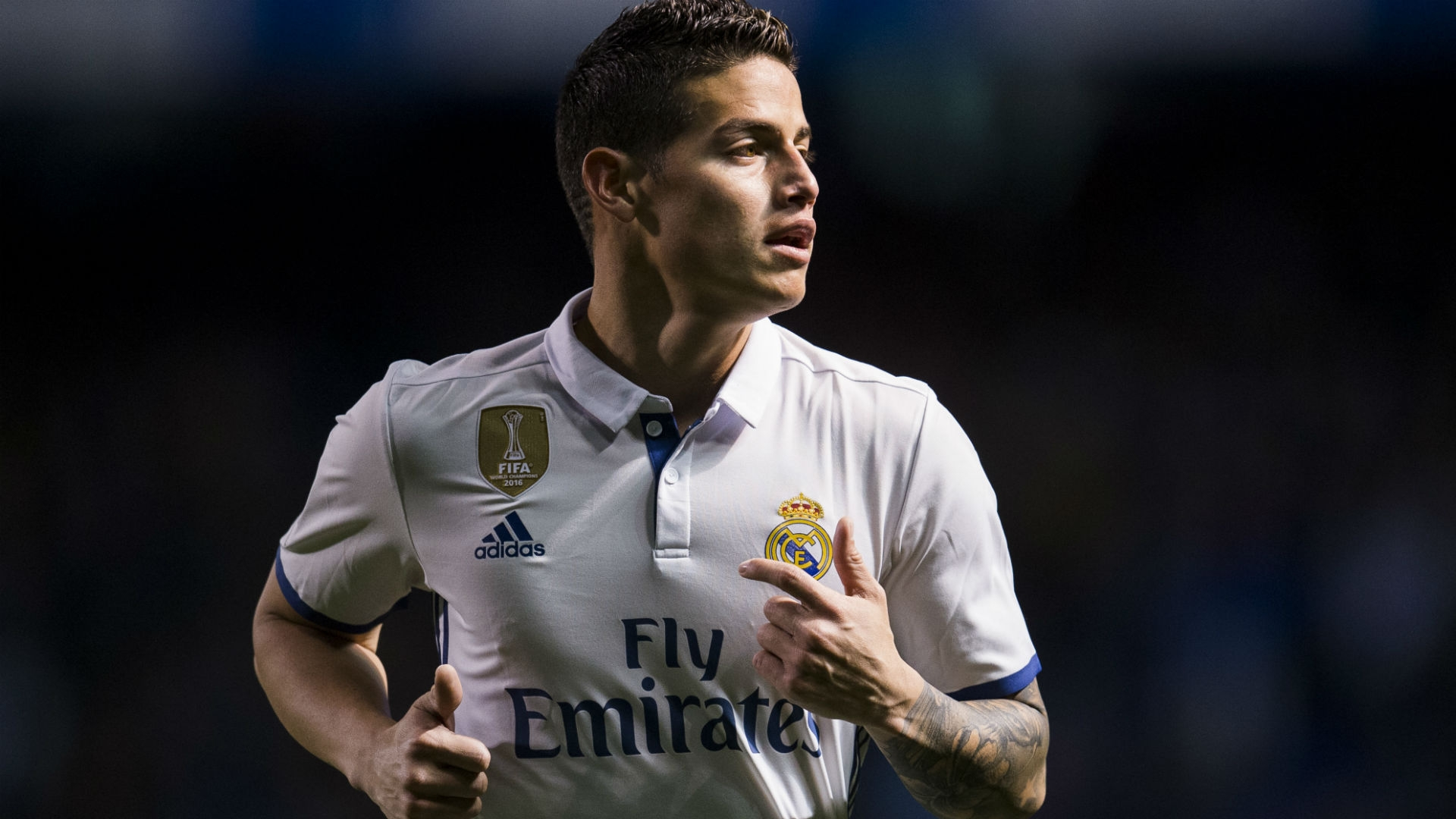 Under manager Zinedine Zidane,  James Rodriguez was a rare presence.