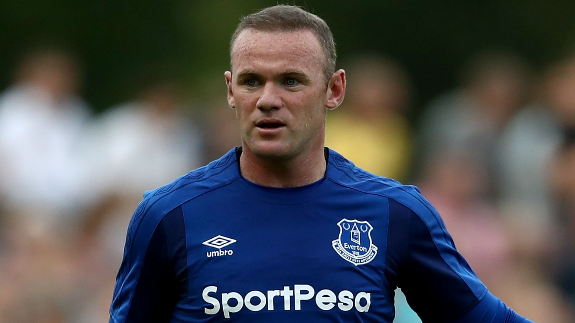 Rooney recently rejoined Everton, after initially leaving the club for United back in 2004.