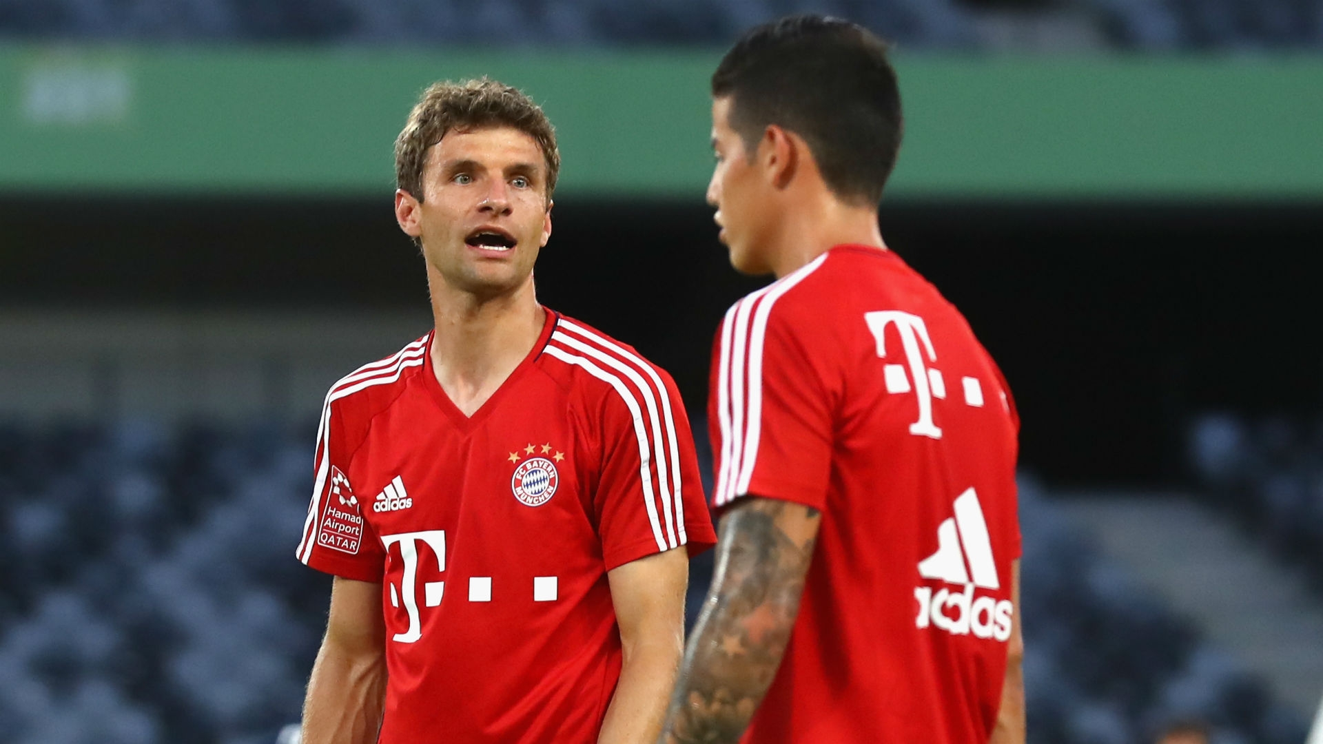 Thomas Muller talked about the recent additions to Bayern Munich's squad and says he does not feel his role in the team is under threat.