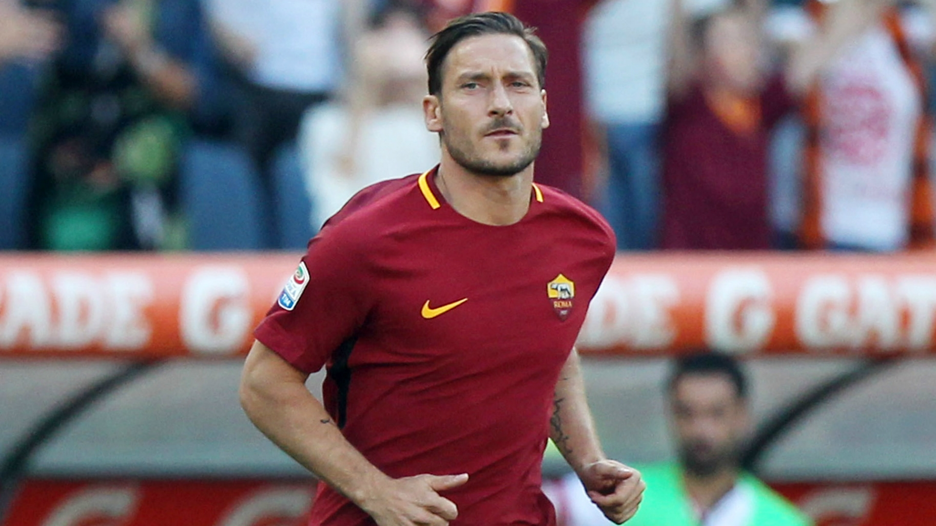 Totti broke many hearts of the AS Roma faithful when he announced his retirement at the end of last season. Totti is now 40