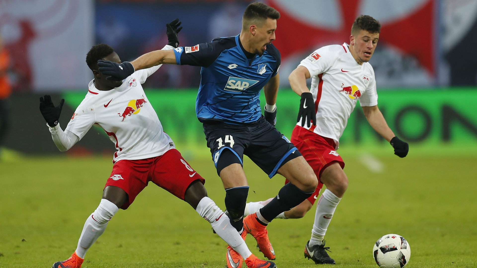 Keita of RB Leipzig